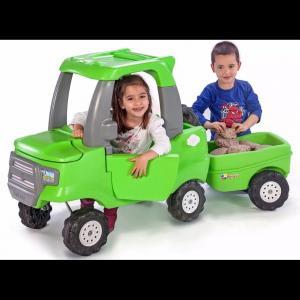 3765e6eec Camioneta Andador con Trailer de Carga para Niños Rotoys - Rodados a ...