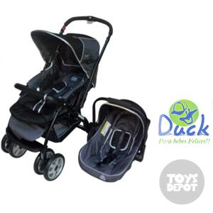 44aabad8f COCHECITOS PARA BEBE - Cochecitos de Bebé -Coche Travel System Smart Duck  Baby - Toys Depot Jugueteria Virtual