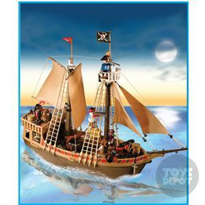 Playmobil barco pirata piratas playmobil playmobil for Barco pirata playmobil