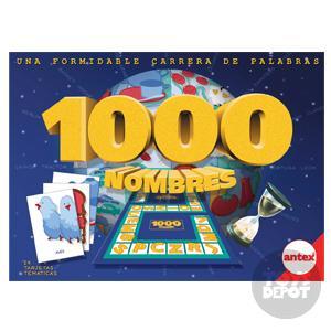 Antex Juegos De Mesa Juegos De Mesa Catalogo Juego 1000 Nombres